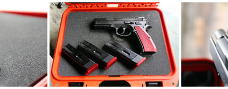 CZ 75 Shadow in case