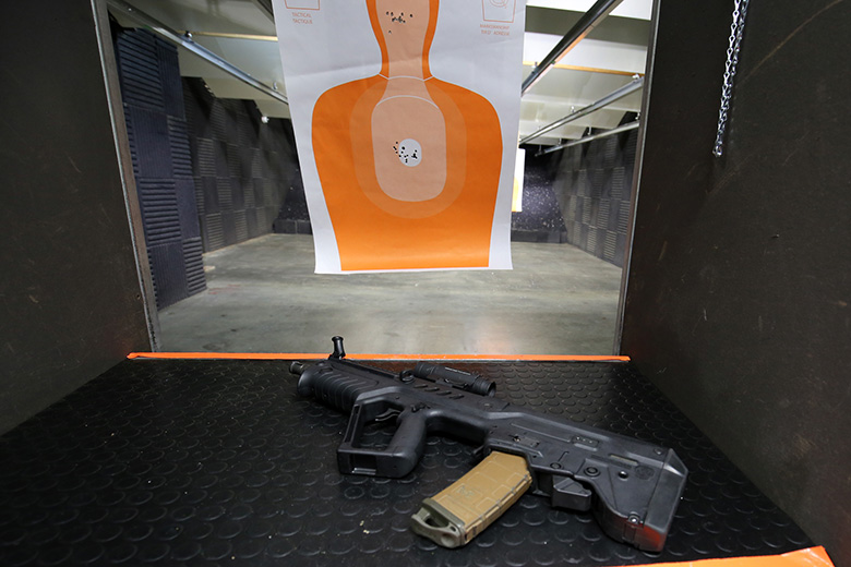 Gun Range in December