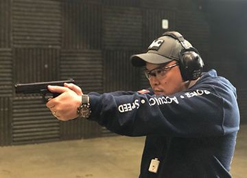 WEsley Yen: Firearms Instructor at DVC